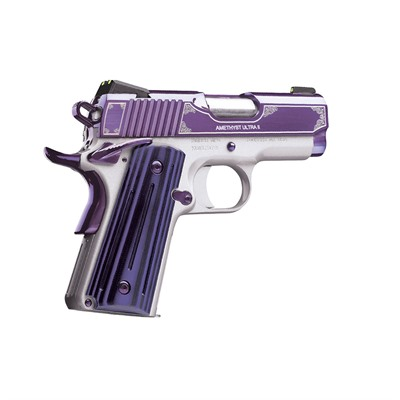 Kimber MFG. - 1911 Amethyst Ultra II 9 MM 3IN 9MM Stainless 7+1RD