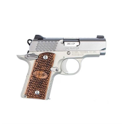 Image of Kimber Mfg. 1911 Micro Raptor Stainless 380 Acp 2.75in Stainless 6+1rd