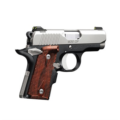 Kimber Mfg. 1911 Micro 9 Cdp Lg 9 Mm 3.15in  9mm Stainless/Blue 6+1rd - 1911 Micro 9 Cdp Lg 9 Mm 3.15in  9mm Stainless/Blue 6+1