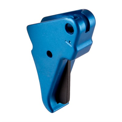 Apex Tactical Specialties S&W Shield Flat Faced Action Enhancement Trigger Blue