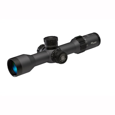 Sig Sauer Tango6 3-18x44mm Ffp Levelplex Rifle Scope - 3-18x44mm Ffp Levelplex Illum. Mrad Milling Graphite