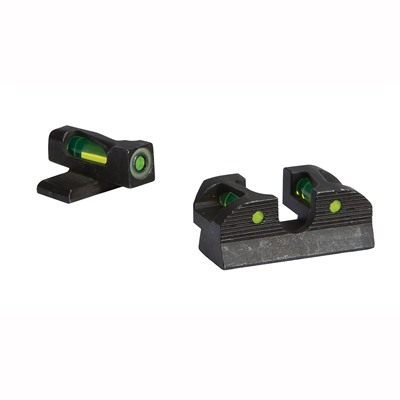 Sig Sauer X-Ray1 Enhanced Day Pistol Sight Sets - #8 Red Front, #8 Red Rear Round Notch