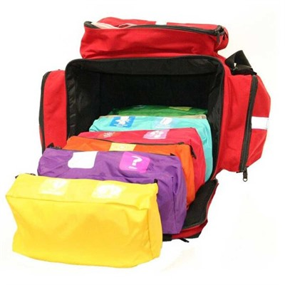 Think Safe Inc First Voice Color Coded First Aid Responder Kit - Color Coded First Aid Responder Kit