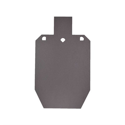 Cts Targets Mini Size Silhouette Rifle Target - Mini Ipsc Target, 3/8