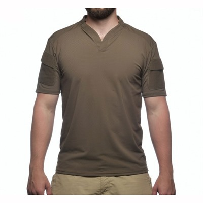 Velocity Systems Boss Rugby Shirt Short Sleeves - Boss Rugby Shirt Short Sleeve Ranger Green Sm