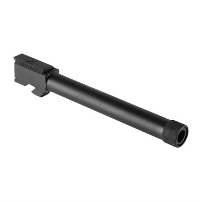 Faxon Firearms Threaded Competition Barrel For Glock34 Gen 1-4 - G34 Gen 1-4 Competition Threaded Barrel Saami 9mm Black