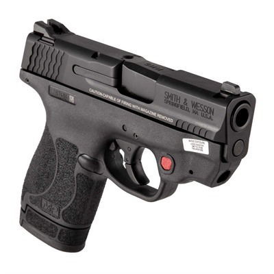 SMITH & WESSON M&P9 SHIELD 2 0 9MM SAFETY CT RED LASER