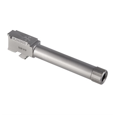 Silencerco Threaded Barrels For Glocks - Threaded Barrel For Glock 19 Ss 1/2