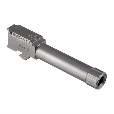 Silencerco Threaded Barrels For Glocks - Threaded Barrel For Glock 26 Ss 1/2