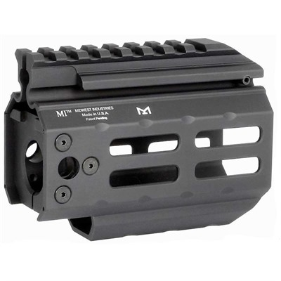 Midwest Industries Cz Scorpion Handguards Free Float M-Lok - Handguard Free Float Aluminum 4.25