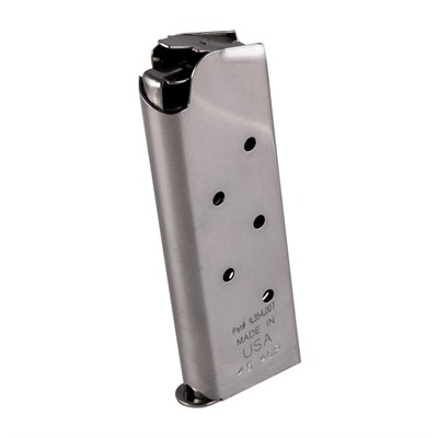 Gun Pro 1911 45 Acp Sure Fire Anti Nose-Dive Magazine - 1911 45 Acp Magazine 7 Round Officers Model