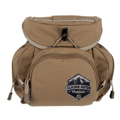 Alaska Guide Creations Kodiak Cub Binocular Pack - Coyote Brown Kodiak Cub Pack
