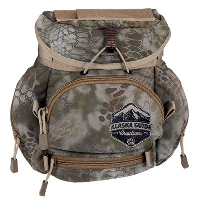 Alaska Guide Creations Kodiak Cub With Max Pocket Binocular Pack - Kryptek Highlander Kodiak Cub Max Pack