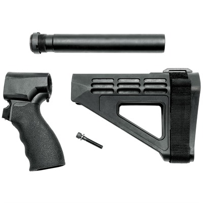 Sb Tactical Remington 870 Tac-14 Sbm4 Stabilizing Brace - Remington 870 Tac-14 Sbm4 Stabilizing Brace Black