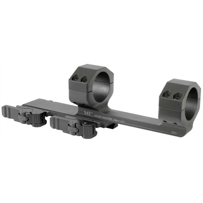Midwest Industries Ar-15 Aluminum Extended Scope Mount 1-Piece Quick Detach - 30mm Extended Quick Detach Mount