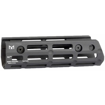 Midwest Industries Iwi Galil Ace Handguard Drop-In M-Lok - Handguard Drop-In Aluminum 6.25   Black
