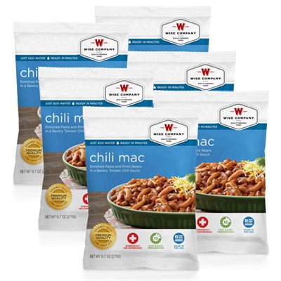 Image of Wise Foods 4 Serving Chili Macaroni