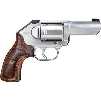K6s Stainless 3 357 Mag 6 Shot Dao.