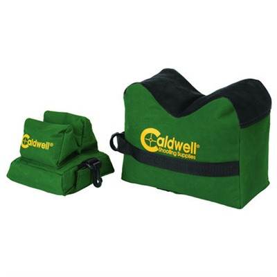Caldwell Shooting Supplies Deadshot Shooting Bags - Unfilled Deadshot Boxed Combo Front & Rear Bag