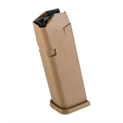 Glock Gen 5 Magazine For Glock G17/19x - Magazine For Glock 17/19x 9mm 17rd Polymer Coyote