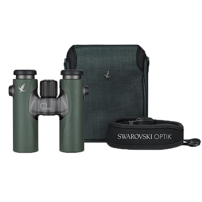 Swarovski Cl Companion 10x30mm Wild Nature Binoculars - 10x30mm Green Wild Nature Binoculars