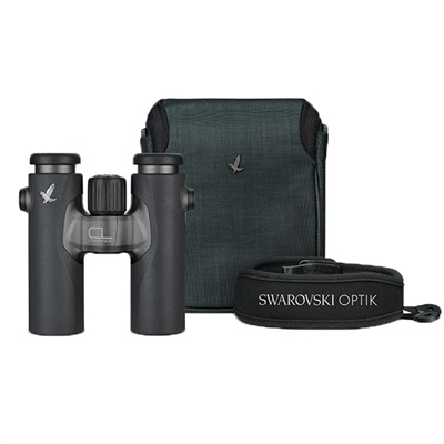 Swarovski Cl Companion 10x30mm Wild Nature Binoculars - 10x30mm Anthracite/Charcoal Wild Nature Binoculars