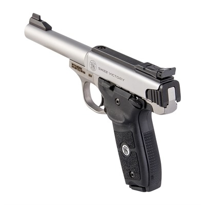 """Smith & Wesson Sw22 Victory Target 22lr 10 1 5.5"""" Ss"""