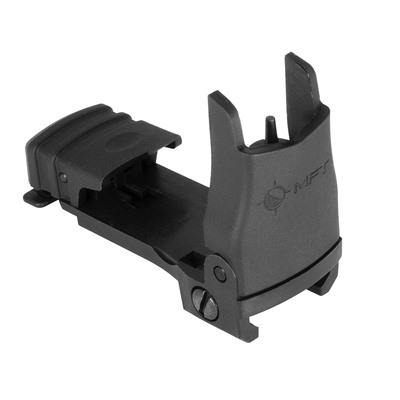 Mission First Tactical Ar-15 Front Sight Flip Up Polymer - Ar-15 Front Sight Flip Up Polymer Black