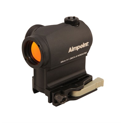 Aimpoint Micro H-1 Red Dot Sight - Micro H-1 2 Moa With Lrp Mount & 39mm Spacer