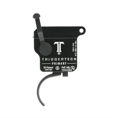 Triggertech Remington 700 Primary Triggers - Remington 700 Primary Trigger Curved Black