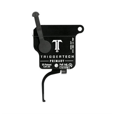 Triggertech Remington 700 Primary Triggers - Remington 700 Primary Trigger Flat Black