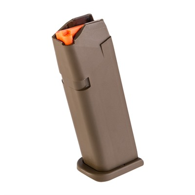 Glock Model 17/34 9mm Magazines - Magazine Fits 17/34 9mm 17-Rd Polymer Flat Dark Earth