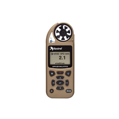 Kestrel 5700 Elite Meter With Applied Ballistics & Link - 5700 Elite With Applied Ballistics & Link, Tan
