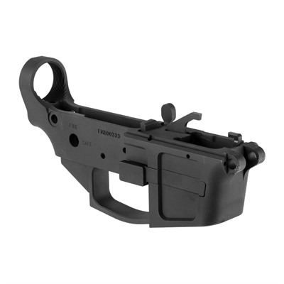 Foxtrot Mike Products Ar-15 Fm-9 9mm Billet Lower Receiver Stripped - Ar-15 Fm-9 9mm Lower Receiver Black