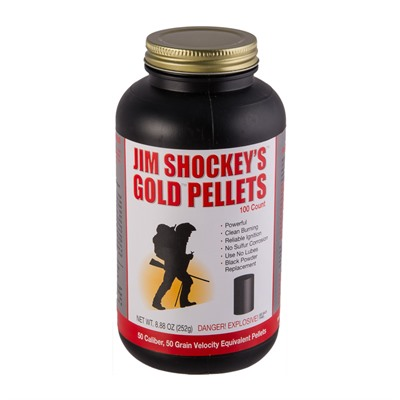 Jim Shockey Gold Pellets - 50 Caliber 50gr Pellets 100/Box