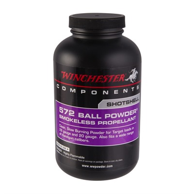 Winchester 572 Ball Powder Smokeless Powder - 572 Smokeless Powder, 1 Lb