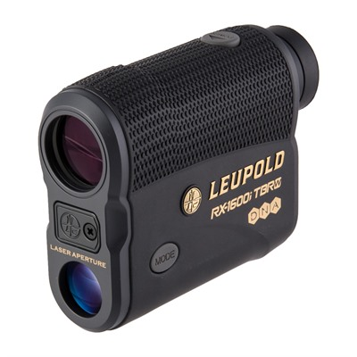 Leupold Rx-1600i Tbr Rangefinder With Dna Laser & Oled Selectable - Rx-1600i Tbr Rangefinder With Dna Laser Black/Gray