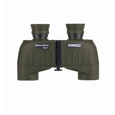 Steiner Optics Military-Marine 10x25mm Mini-Porro Binoculars - 10x25mm Green Mini-Porro Binoculars