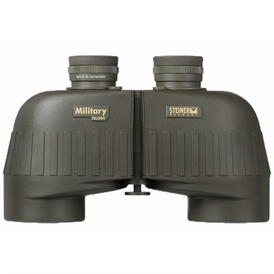 Steiner Optics M1050r 10x50mm Military Series Binoculars With Sumr Reticle - 10x50mm Green Military Series Binoculars W/Sumr Reticle