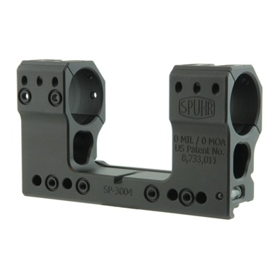 Spuhr Isms Picatinny Mounts - 30mm 0 Moa 1.89