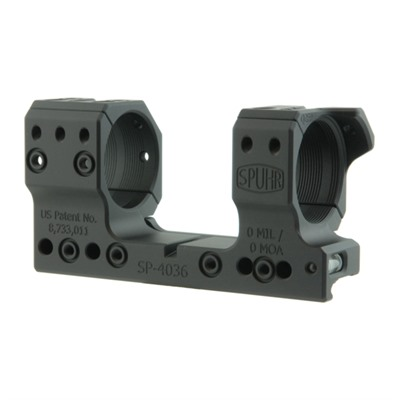 Spuhr Isms Picatinny Mounts - 34mm 0 Moa 1.35