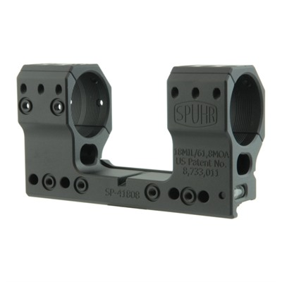 Spuhr Isms Picatinny Mounts - 34mm 61.8 Moa 1.73