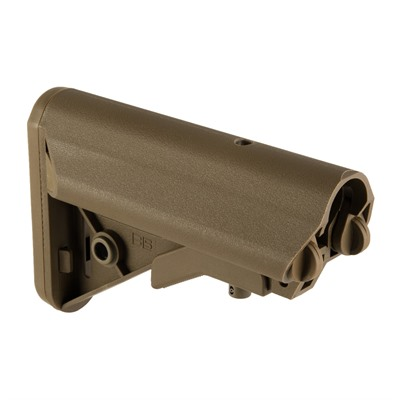 Ar-15 Enhanced Sopmod Stock Collapsible Mil-Spec - Ar-15 Sopmod Stock Collapsible Mil-Spec Coyote Br
