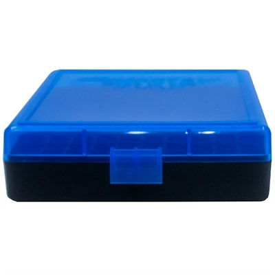 Berrys Manufacturing 100 Round  Ammo Boxes - Blue 380/9mm 100 Round Ammo Box