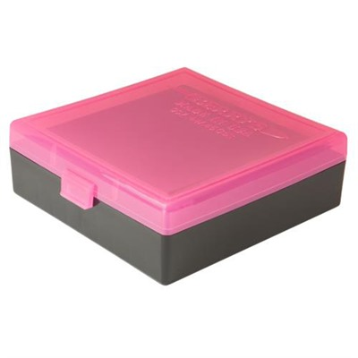Berrys Manufacturing 100 Round  Ammo Boxes - Pink 44 Special/Mag 100 Round Ammo Box