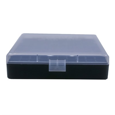 Berrys Manufacturing 100 Round Ammo Boxes Clear 40 45 Acp 100 Round Ammo Box