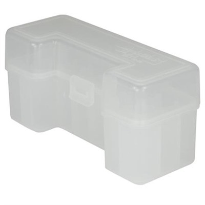 Berrys Manufacturing 20 Round Slip Top Rifle Ammo Boxes Clear 45 70 Government 20 Round Ammo Box