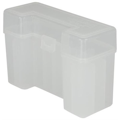 Berrys Manufacturing 20 Round Slip-Top Rifle Ammo Boxes - Clear Ultra Mag Family 20 Round Ammo Box
