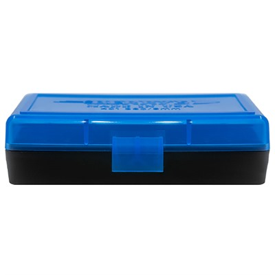 Berrys Manufacturing 50 Round Ammo Boxes - 9mm Luger 50 Round Ammo Box, Blue
