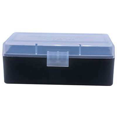 Berrys Manufacturing 50 Round Ammo Boxes - 38/357 50 Round Ammo Box, Clear